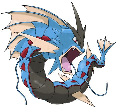 Coloriage Méga-Léviator Méga-Pokémon à imprimer