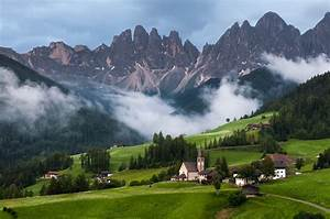 Nature, Landscape, Mountain, Clouds, Trees, Italy