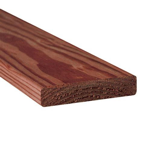 pressure treated deck boards home depot 5 4 in x 6 in x 12 ft pressure treated kiln dried