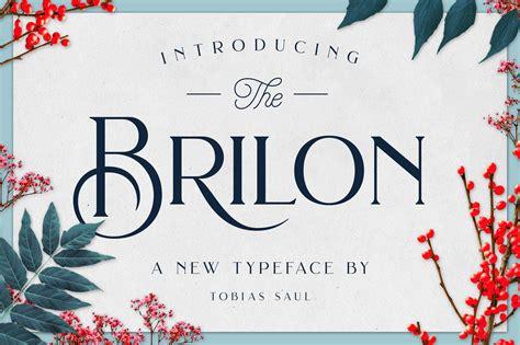 font decor brilon font extras display fonts creative market