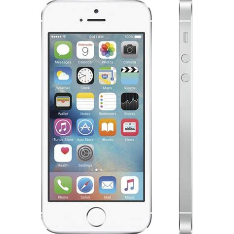 refurbished iphone 5s unlocked refurbished apple iphone 5s 16gb unlocked in silver buy