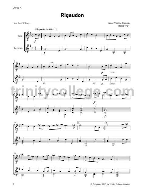 Guitar Exam Pieces Grade 2 20162019  Trinity College London