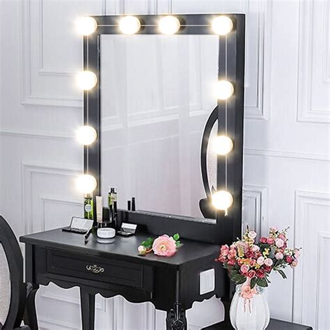 Vanity Table Light by Makeup Mirror Led Lights 10 Vanity Light Bulbs
