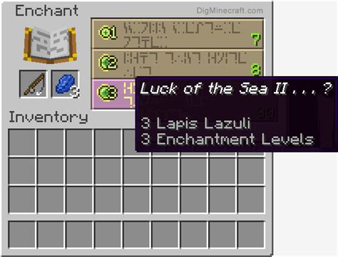 enchanted fishing rod  minecraft