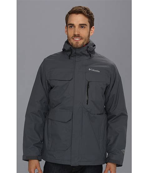 Columbia Back To Hells Mountain Interchange Jacket ...