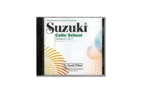 Suzuki Cello School Volume 1 & Volume 2 Cd