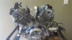 Find 94 Yamaha Virago Xv750 Xv 750 Engine Motor Motorcycle