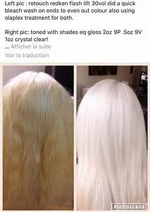 Idol High Lift Color Chart High Lift Toned Icy Cool White Pearl Hair Color