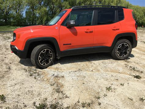 jeep renegade trailhawk orange jeep renegade trailhawk convenient crossover capable