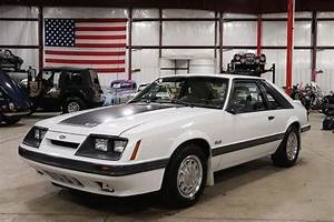 1986 Ford Mustang Gt 31147 Miles White Coupe 5 0 Liter V8