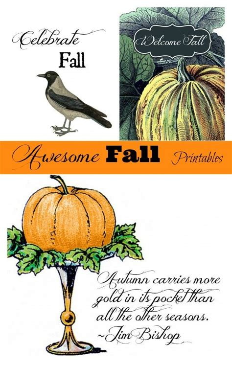 Free Fall Printables  Refresh Restyle