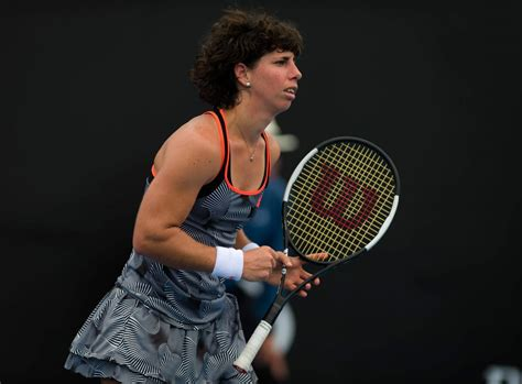 She grew up in havana, where she ended up studying electronic engineering, without putting aside her interest in literature. CARLA SUAREZ NAVARRO at 2019 Australian Open at Melbourne Park 01/16/2019 - HawtCelebs
