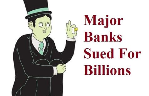 Check spelling or type a new query. Credit News Series #12: Major Banks Sued For Billions (Again)
