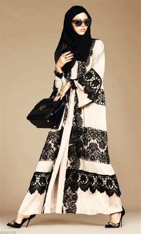 dolce gabanna launches hijab  abaya collection