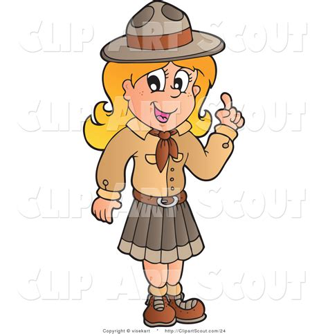clipart scout royalty free stock scout designs of