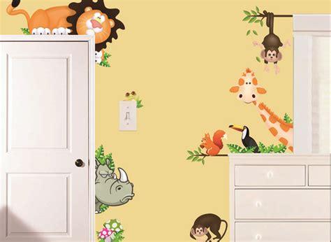 Wandtattoo Kinderzimmer Löwe by Wandtattoo Kinderzimmer Tiere Wandtattoo Wald Sticker