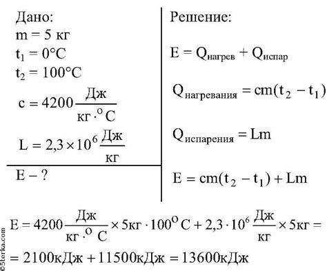 § 20. Удельная теплота парообразования и конденсации