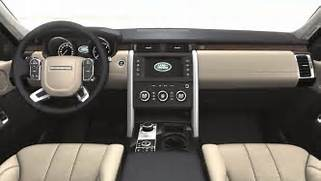 Land-Rover Discovery 2017 dimensions with photos of the interior and      Land Rover Discovery 2017 Interior