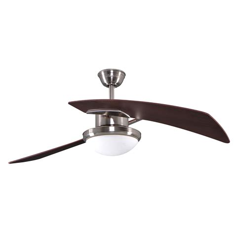 allen and roth ceiling fans shop allen roth santa ana 48 in brushed nickel downrod