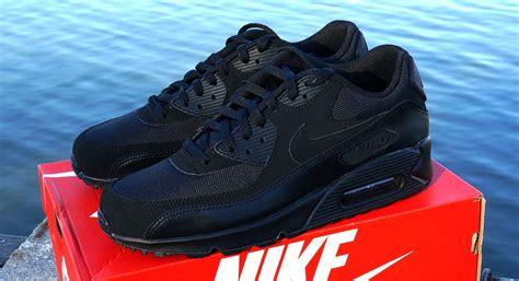 Good Nike Air Max 90 Essential All Black 8ba87 Bbe8a