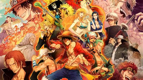 One Piece Poster Full Hd Wallpaper And Hintergrund