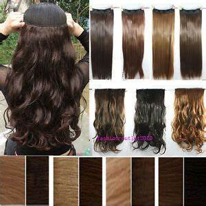 Cheap Price New 3 4 Full Head Clip In On Hair Extensions