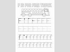 Letter F Worksheet to Print Loving Printable