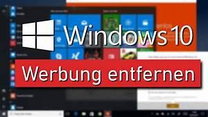 Top Schnäppchen Werbung Entfernen : anleitung s mtliche werbung in windows 10 entfernen youtube ~ Watch28wear.com Haus und Dekorationen