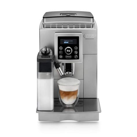 All you have to do is fill it with beans and press a button and the machine delivers. Delonghi ECAM 23460S Fully Automatic Coffee Machine - PakRef