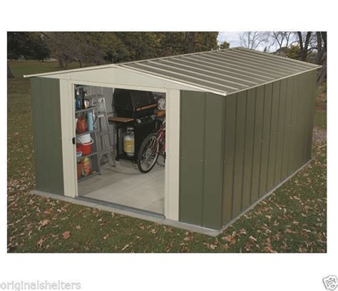 Arrow Metal Sheds Kits by Arrow Metal Sheds 10 X 9 Lawn Garden Shed Kit Outdoor