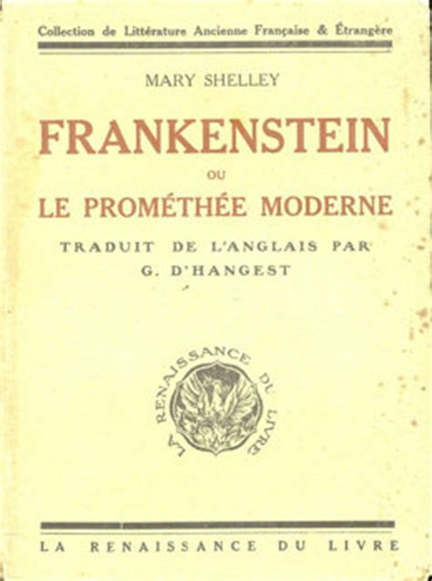 couvertures images et illustrations de frankenstein ou le prom 233 th 233 e moderne de