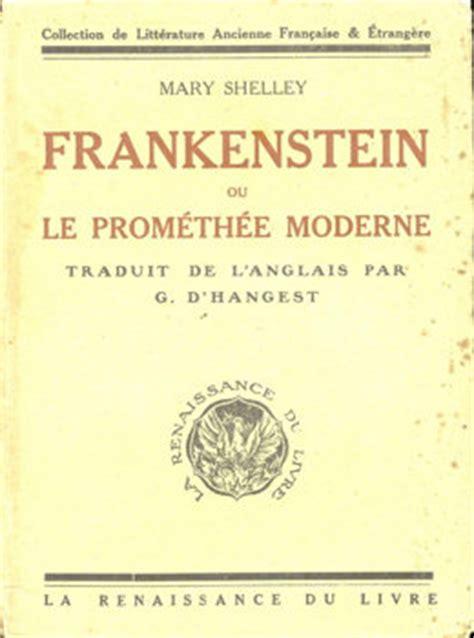 couvertures images et illustrations de frankenstein ou le