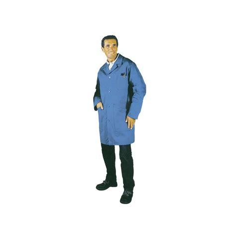 blouse de travail contre maitre bleue label blouse net
