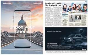 Creative advertising examples for digital & print media