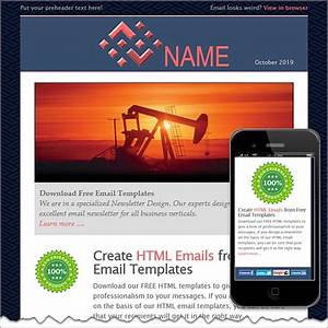 Petroleum free html e mail templates for Create html email template online