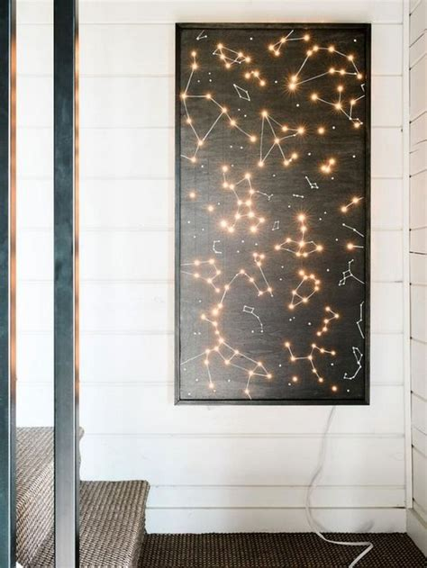 awesome lighting wall art ideas to beautify your indoor