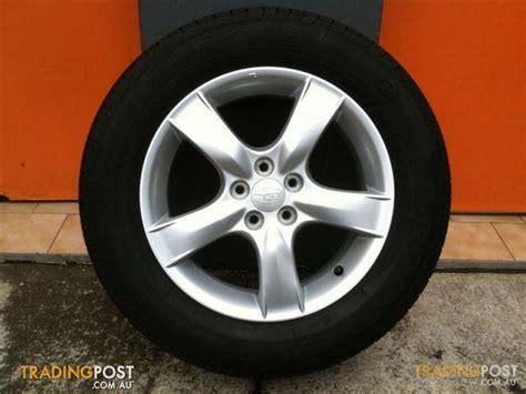 subaru forrester 16 inch genuine alloy wheels