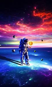 2932x2932 Astronaut Exploring Space Ipad Pro Retina ...