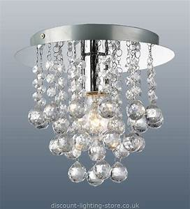 Palazzo contemporary polished chrome light fitting with