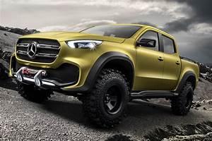 Classe X Mercedes : mercedes presente son futur pick up sous les traits du ~ Mglfilm.com Idées de Décoration