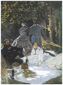 Luncheon On The Grass Painting by Claude Monet