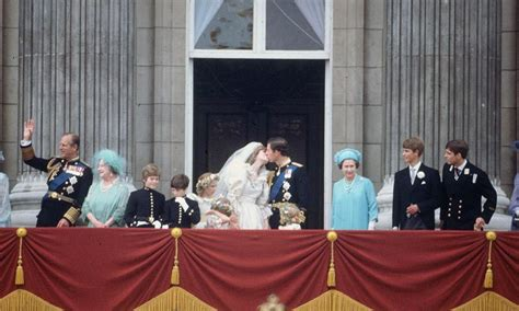 Charles and Diana Wedding Party