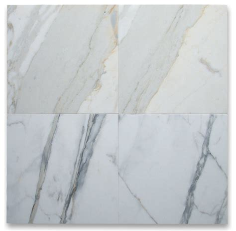 calcutta marble tile 18 quot x18 quot calacatta gold tile polished italian calcutta oro marble set of 88 traditional wall