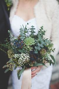 22 winter wedding bouquets you can t resist
