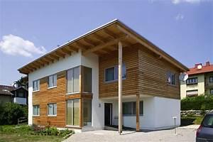 Holzfassade Welches Holz : pultdachhaus in friedberg lieb fertighaus ~ Yasmunasinghe.com Haus und Dekorationen