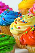 Colorful Cupcakes ...