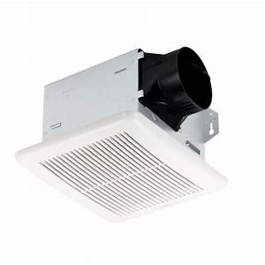 Nutone 50 cfm wall ceiling mount exhaust bath fan 696n for Cfm requirements for bathroom fans