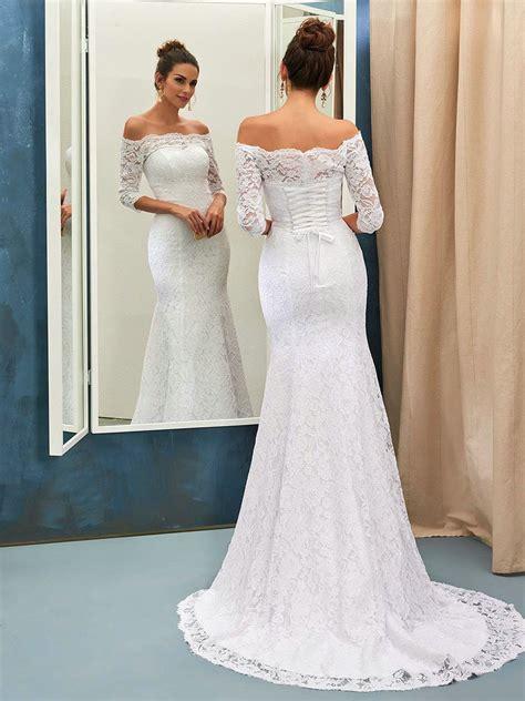 927b4a0d867 off the shoulder wedding dresses - Ecosia