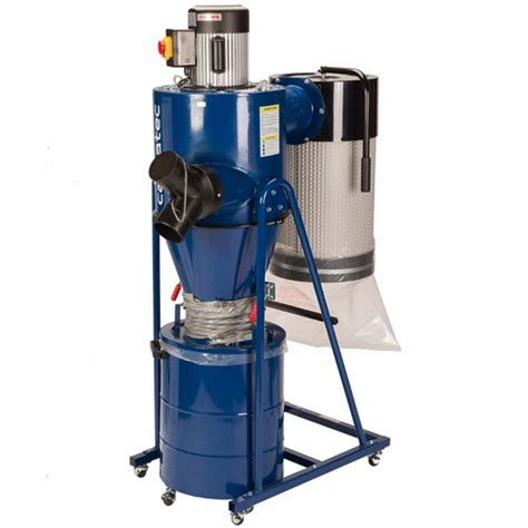 carbatec hp cyclone dust extractor  auto clean