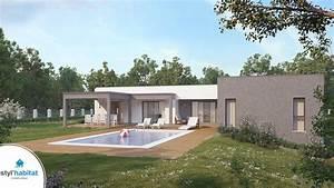 Maison Architecte Plain Pied : styl habitat constructeur maison centre ~ Melissatoandfro.com Idées de Décoration